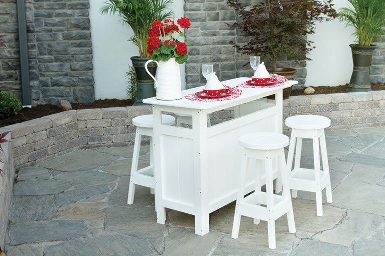 Outdoor Buffet Table - Bars And Buffet Tables Outdoor Patio Furniture