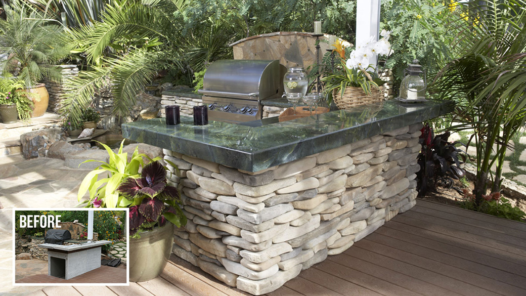 Outdoor kitchens for Eldorado outdoor cabinets